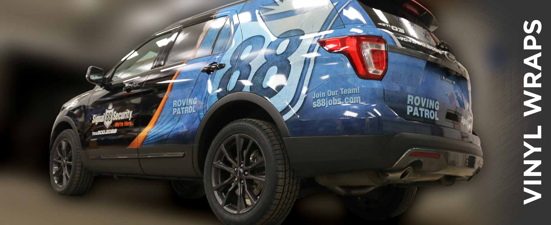 Police and Security Patrol Vehicle Wraps